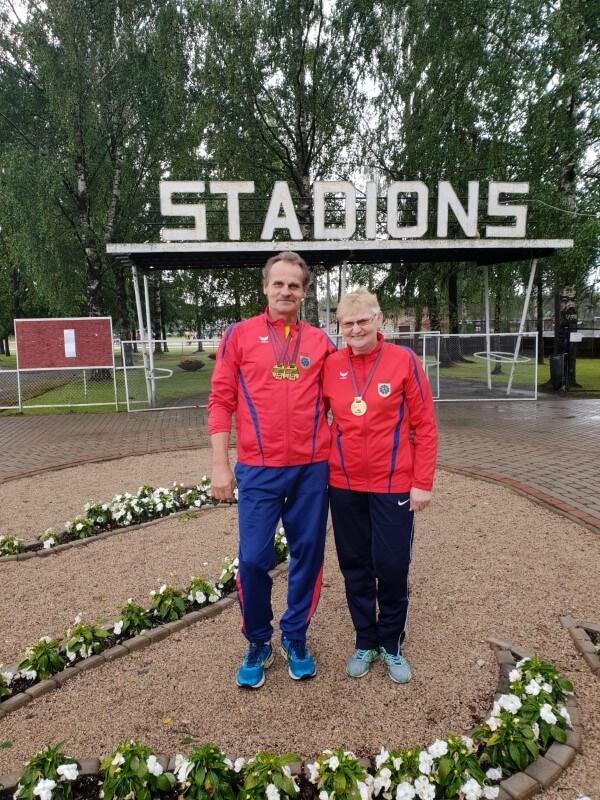 5. Latvijas veterānu čempionāts vieglatlētikā