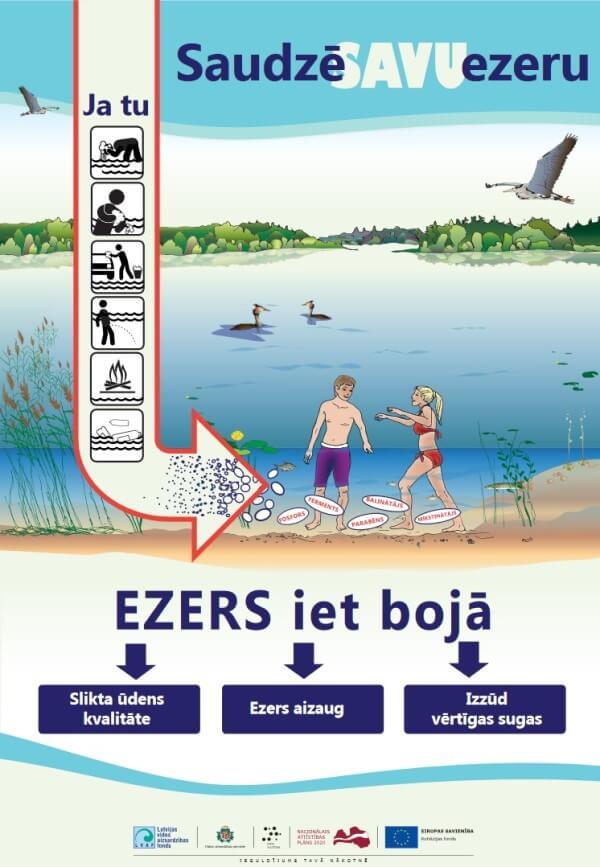 Image result for saudzē savu ezeru