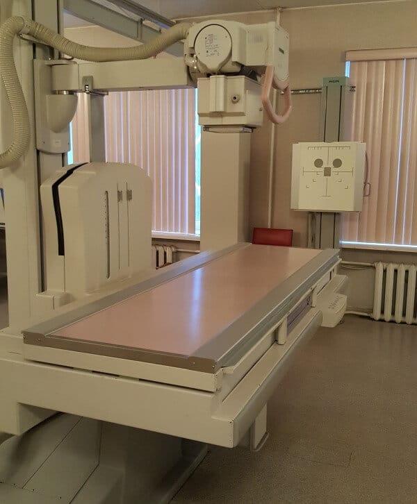 Uz laiku nebūs pieejams rentgena kabinets SIA