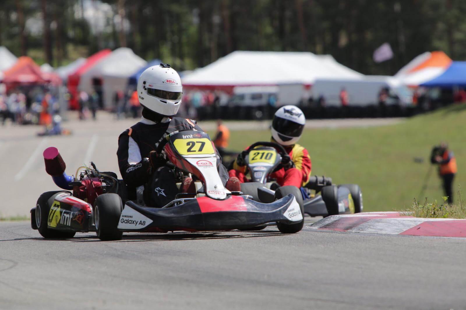 """Smiltenē startēs """"LMT Autosporta akadēmijas Skolu kartinga kausa"""" ceturtais posms"""