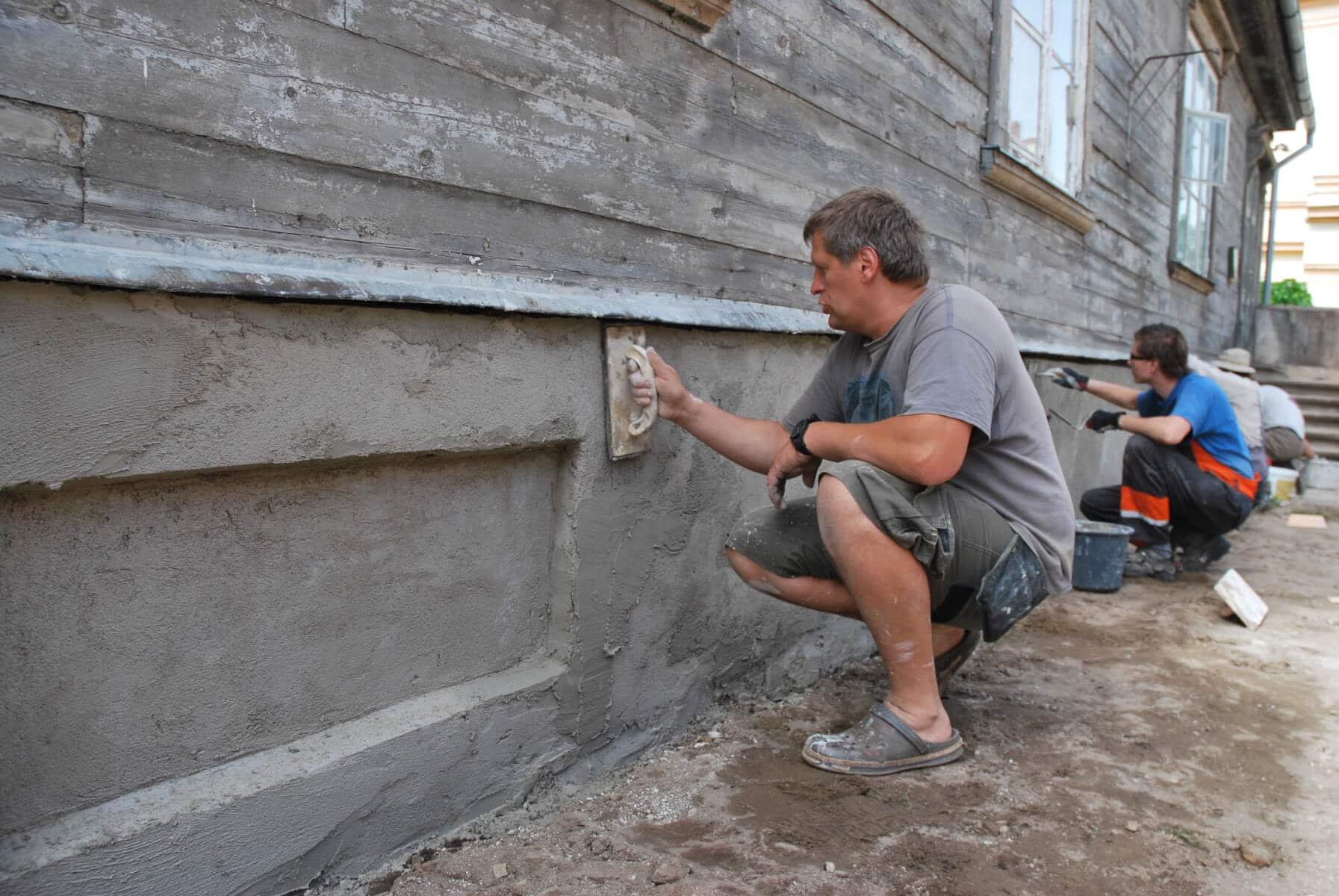 Vēsturiskā mūra restaurācijas meistarklase
