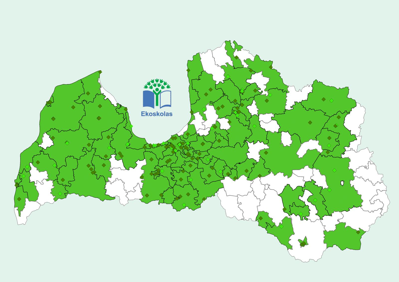 Ekoskolas turpina uzturēt vides izglītību visā Latvijā jau 17 gadus
