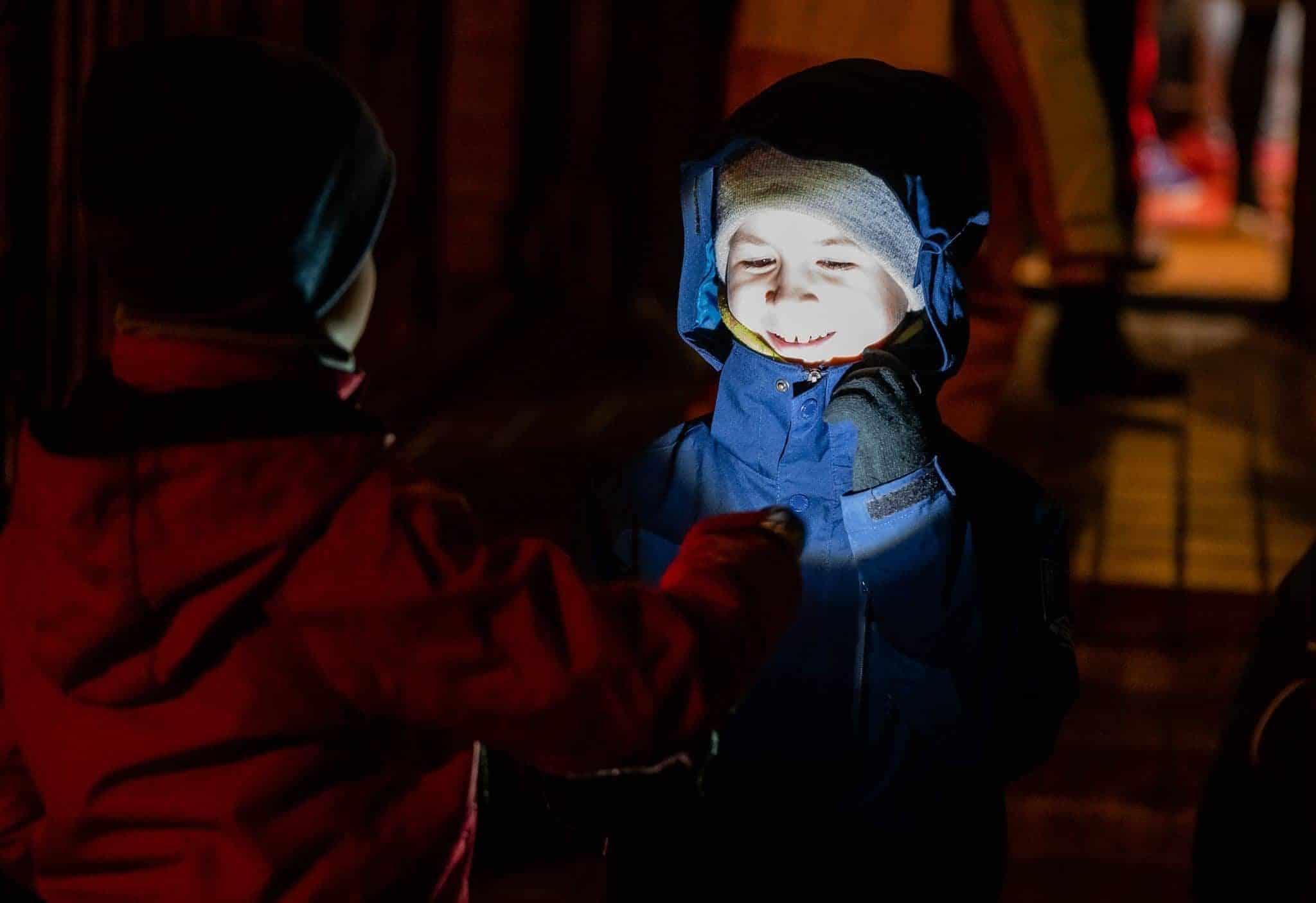Nakts pārgājienā tika iepazīta naksnīgā Smiltenes apkārtne