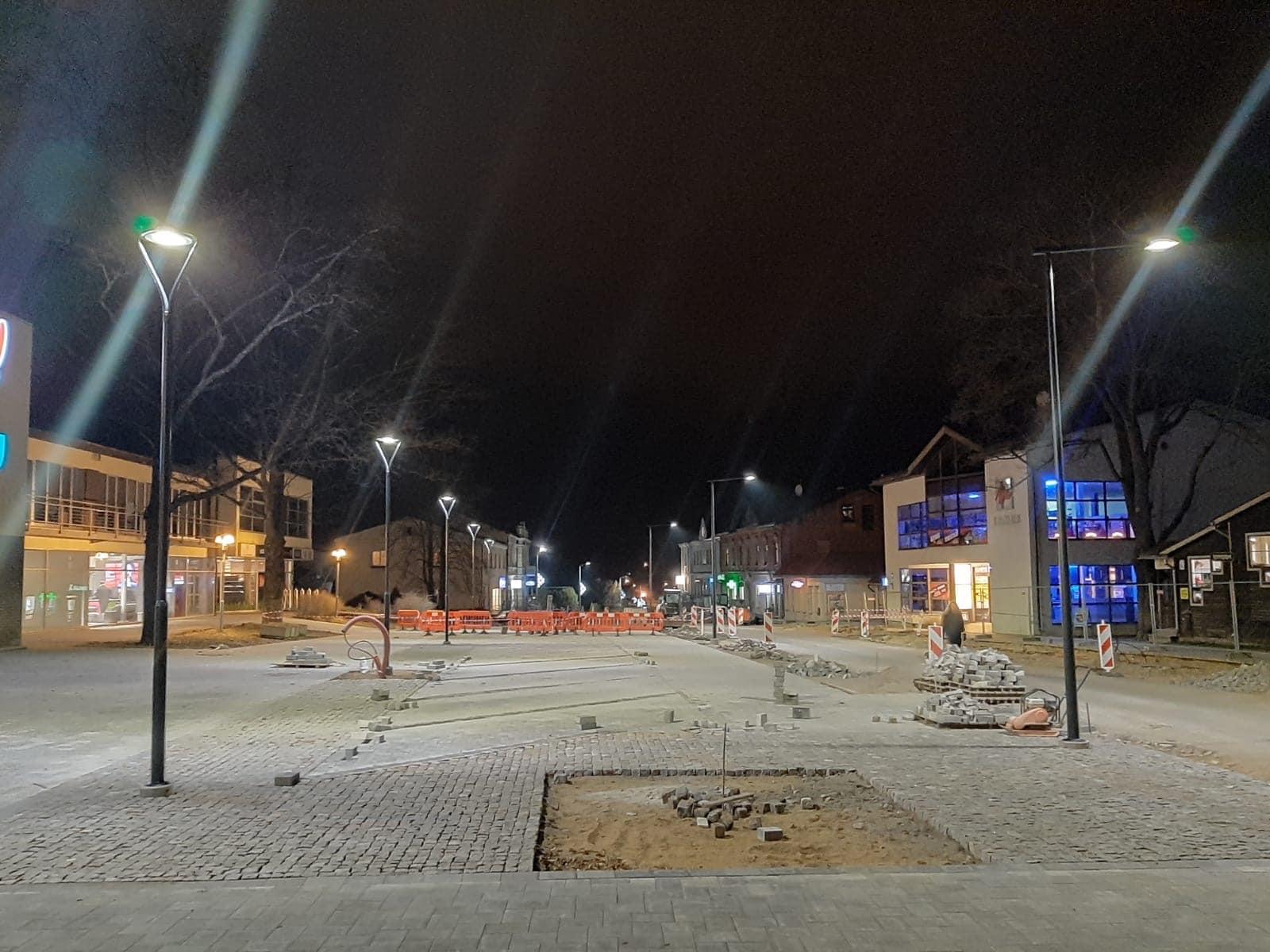 Par Daugavas ielas un Baznīcas laukuma posma pārbūvi