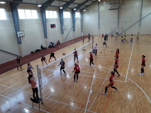 Aizvadīta Smiltenes novada čempionāta volejbolā sievietēm 2020 1.kārta