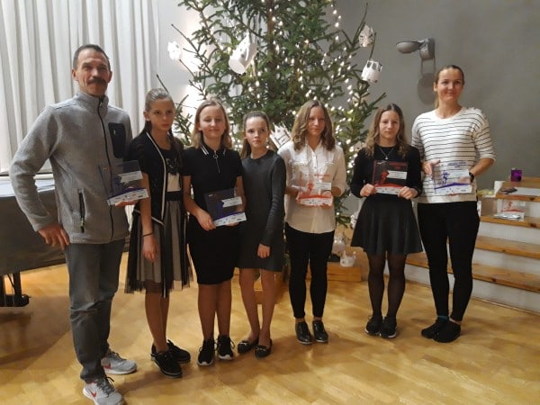 Latvijas kausa orientēšanās sportā jauniešu apbalvošanas balle