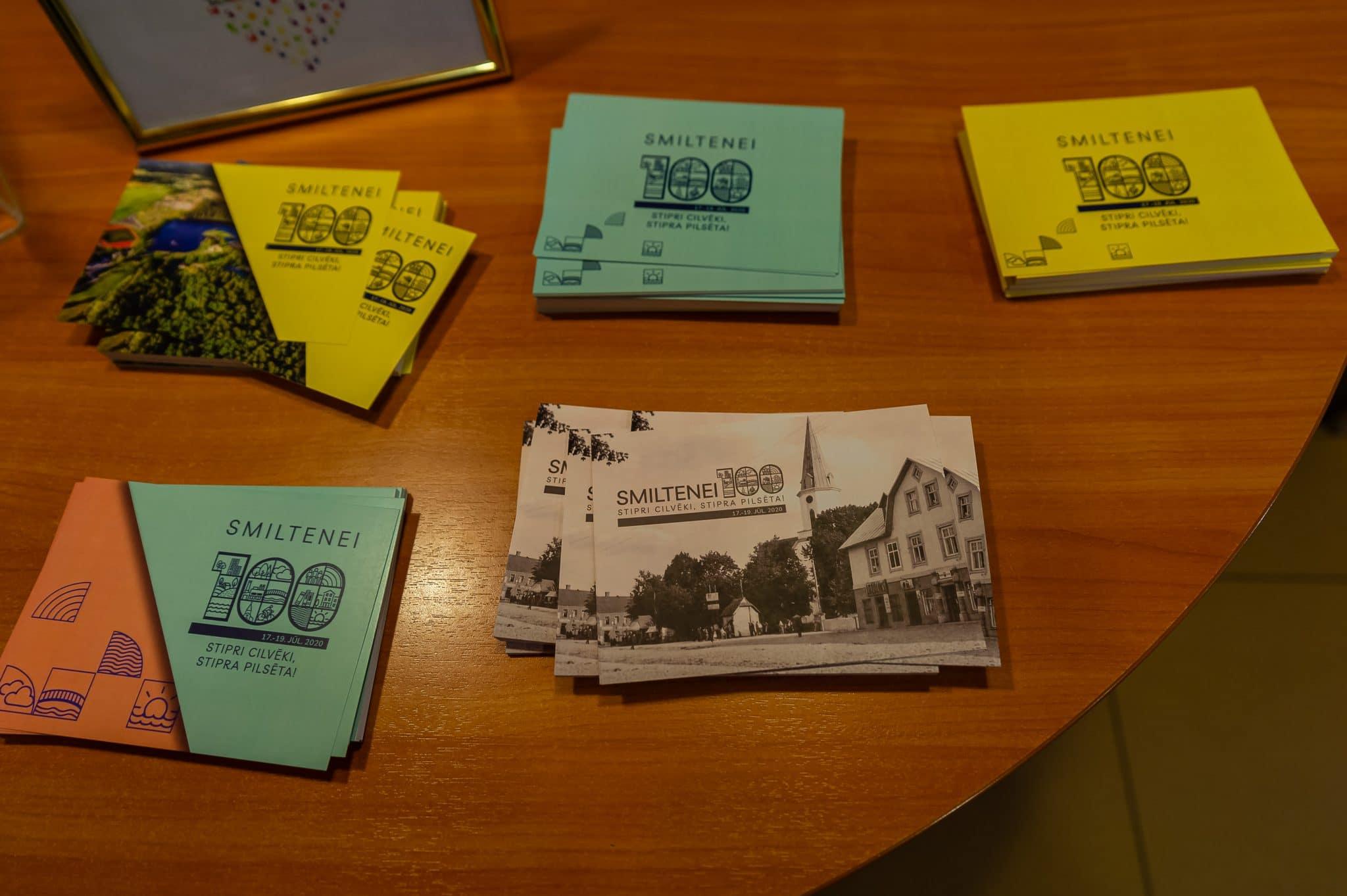 Aicinām sūtīt ielūgumus saviem radiem un draugiem uz Smiltenei 100 svinībām