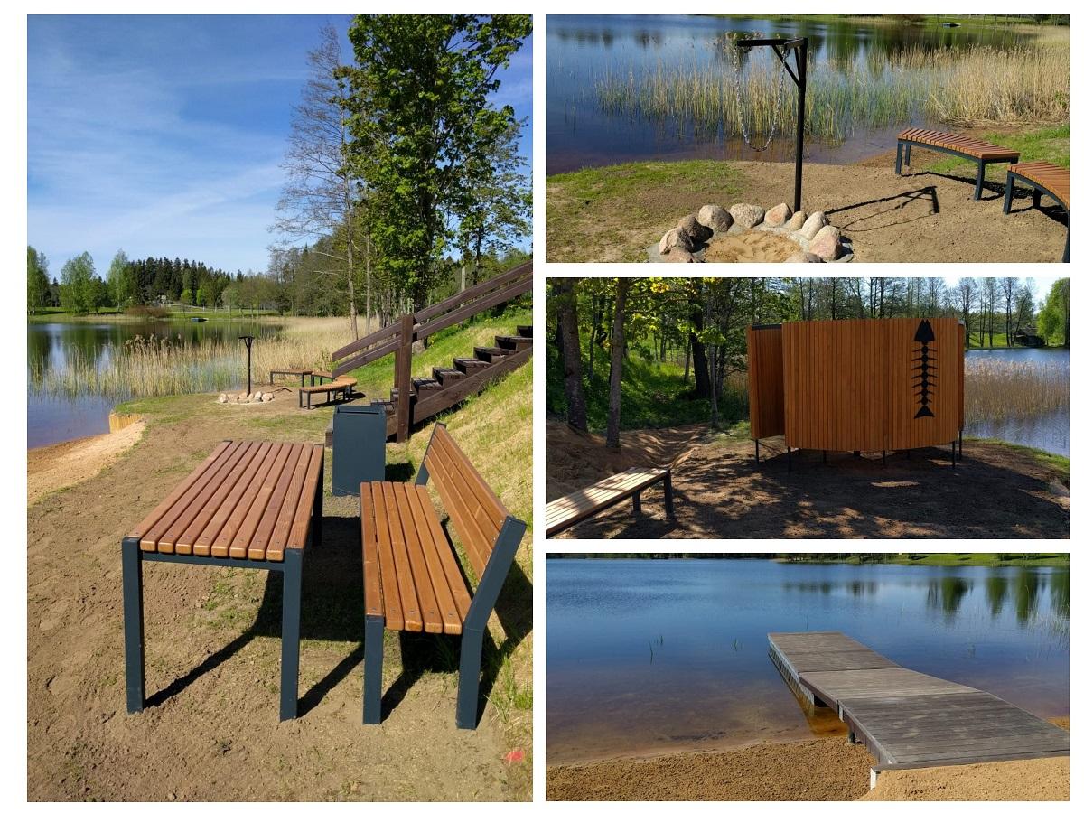 """Noslēdzies projekts """"Publiskās piekļuves nodrošināšana Lizdoles ezeram"""""""