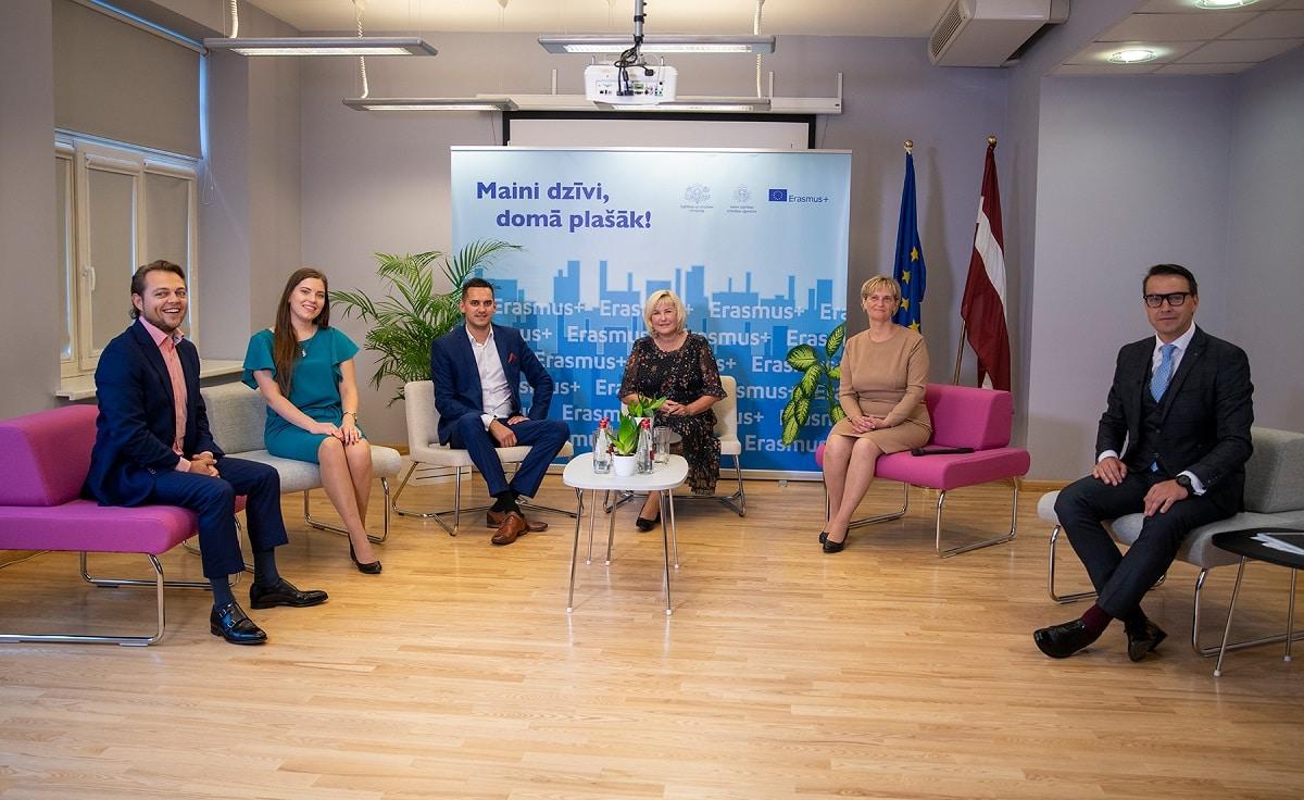 Vērtē Erasmus+ starptautiskās pieredzes devumu profesionālajā izglītībā