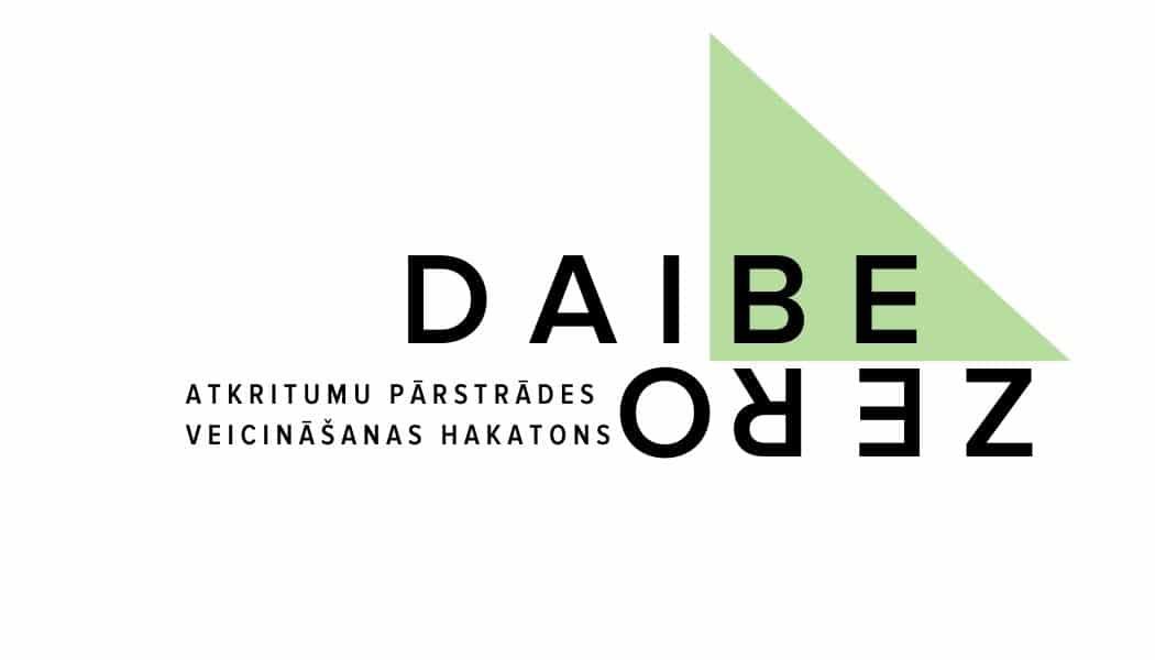 """Tiek izsludināta pieteikšanās pirmajam atkritumu pārstrādes veicināšanas hakatonam """"DaibeZero"""""""