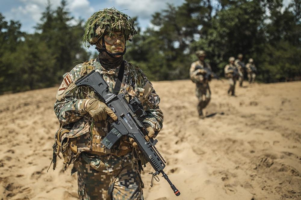 Zemessardzes 2.Vidzemes brigāde aicina rezerves karavīrus piedalīties militārajās mācībās
