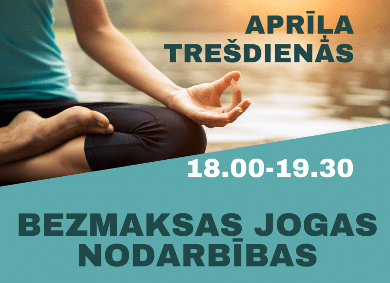 Bezmaksas jogas nodarbības Smiltenes novadā