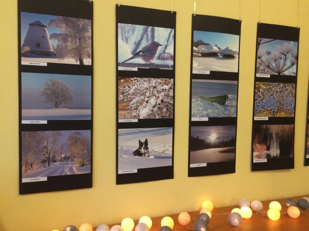 Ziemas burvība fotogrāfijās pārtop izstādē