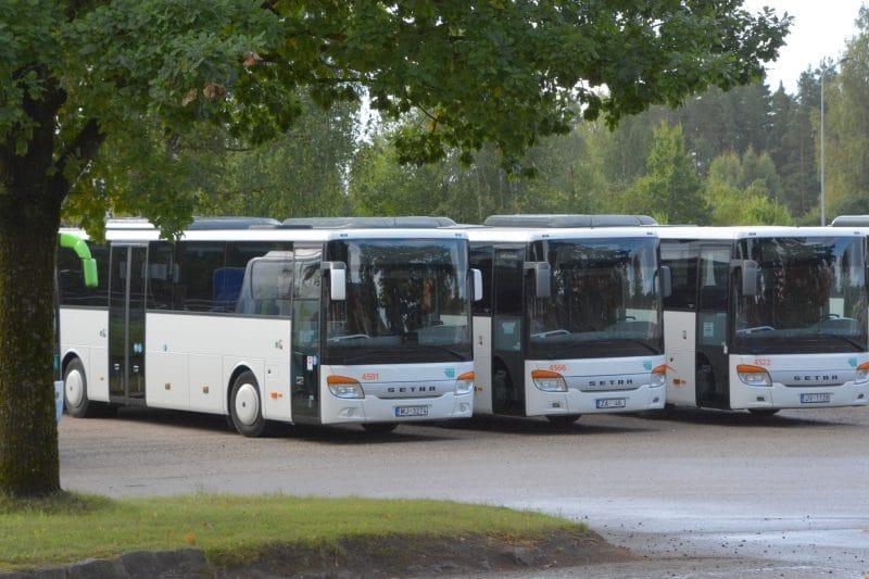No 17.maija izmaiņas autobusu kustībā