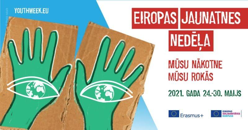 Nākamnedēļ ar daudzveidīgiem pasākumiem tiks atzīmēta Eiropas Jaunatnes nedēļa