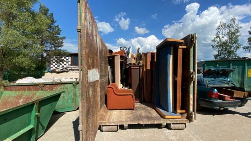 5.jūnijā noslēdzās lielgabarīta atkritumu vākšanas akcija Smiltenes novadā