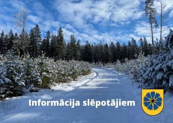 Informācija slēpotājiem