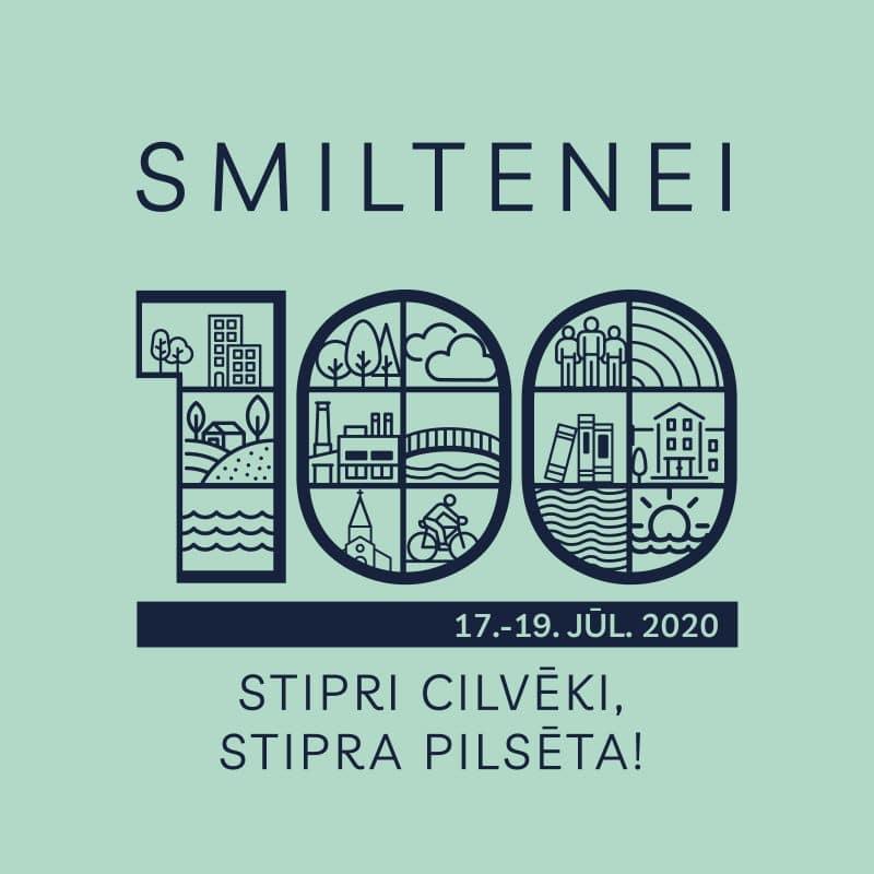 Svētku programma: Smiltenei 100  - Stipri cilvēki, stipra pilsēta!