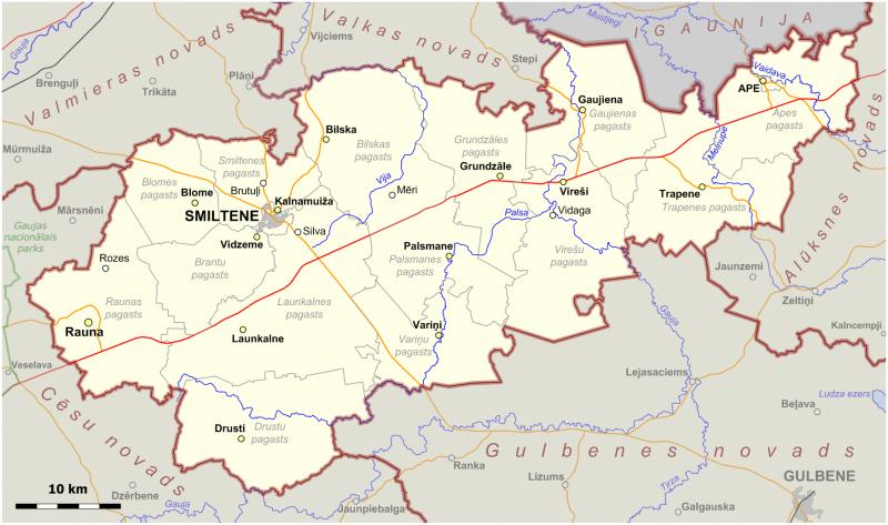 Process of administrative-territorial reform in Smiltene Municipality