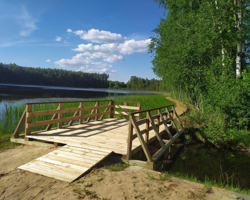 Noslēgušies Bilskas ezera labiekārtošanas darbi