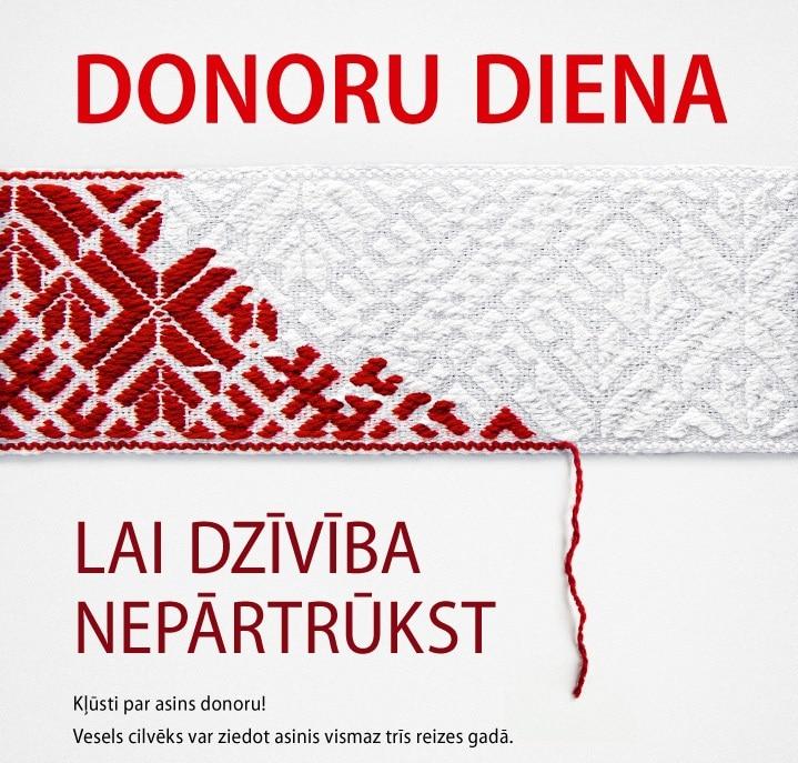 Asins donoru diena Smiltenē