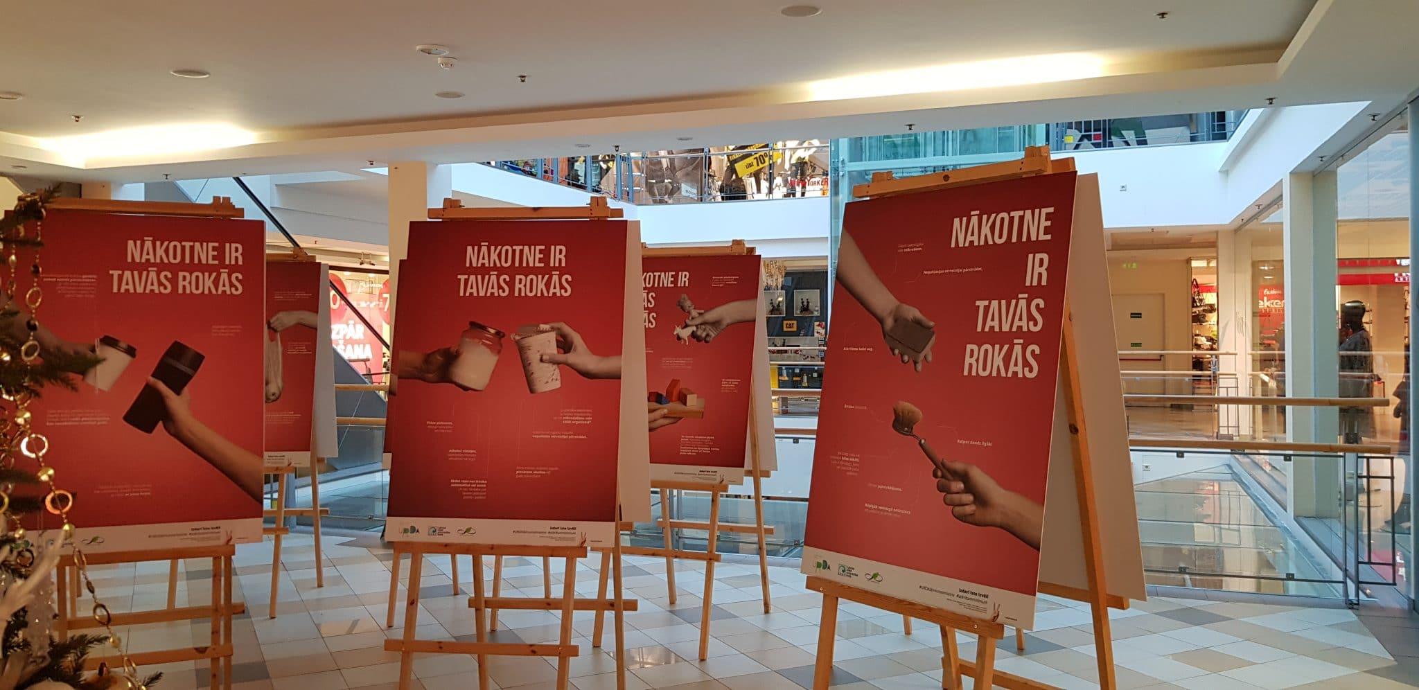 """""""Daibes ilgtspējas centrs"""" tirdzniecības centrā """"Valleta"""" aicina – apskaties un rīkojies!"""