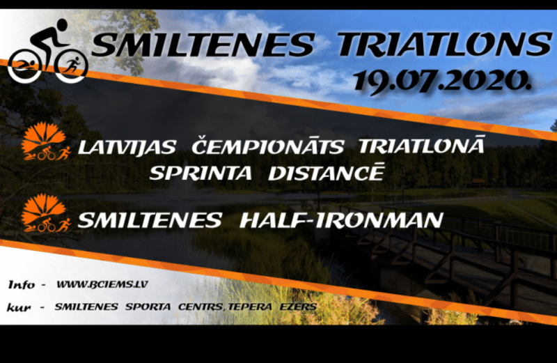 Latvijas čempionāts triatlonā - Smiltenē