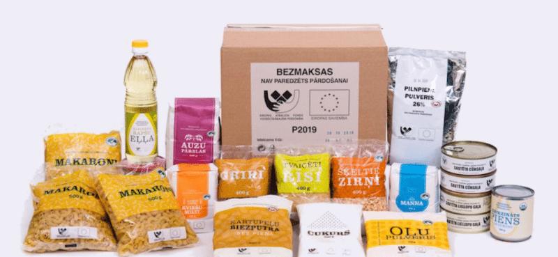 Jaunas partnerorganizācijas pārtikas paku un maltīšu izdalei