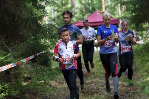 Azimuts OK-Sm BJSS komandas starts Latvijas čempionātā