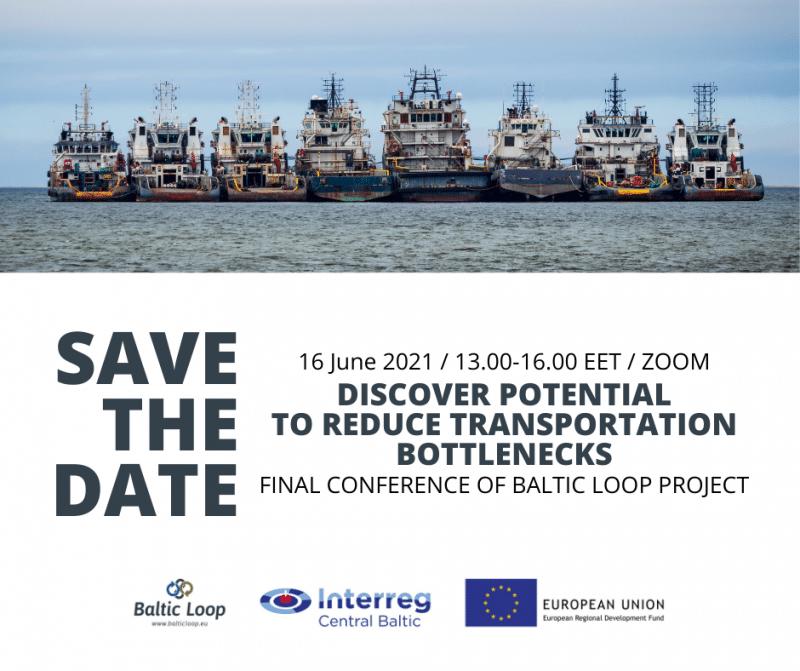 16. jūnijā tiešsaistē notiks starptautiska konference par izaicinājumu pārvarēšanas iespējām transporta sektoru attīstībai Baltijas jūras reģionā