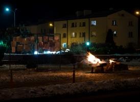 Barikāžu atceres dienas pasākums 20. janvārī (Foto: A. Melderis)