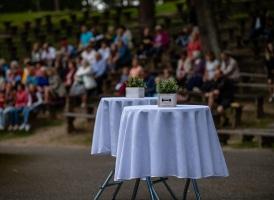 """Bauskas Tautas teātris """"Laulību līgums"""" 22.08.20. (Foto: A. Melderis)"""