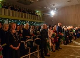 Smiltenes novada apbalvojumu pasniegšana. FotoA.Melderis (18.11.2019.)