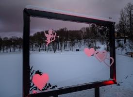 Valentīndiena Smiltenē (Foto: A. Melderis)