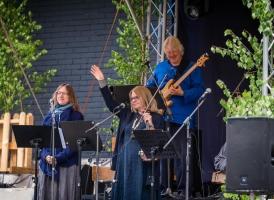 Vasaras sezonas atklāšana Smiltenē - deju lielkoncerts kopā ar grupu Iļģi (25.05.2019.)