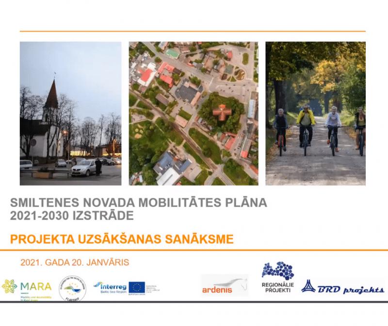 Ar Eiropas Savienības atbalstu 7 mēnešu laikā tiks izstrādāts mobilitātes plāns topošajam  Smiltenes novadam